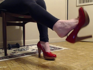 My Sexy Red Heels