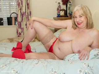 On The Bed All In Red