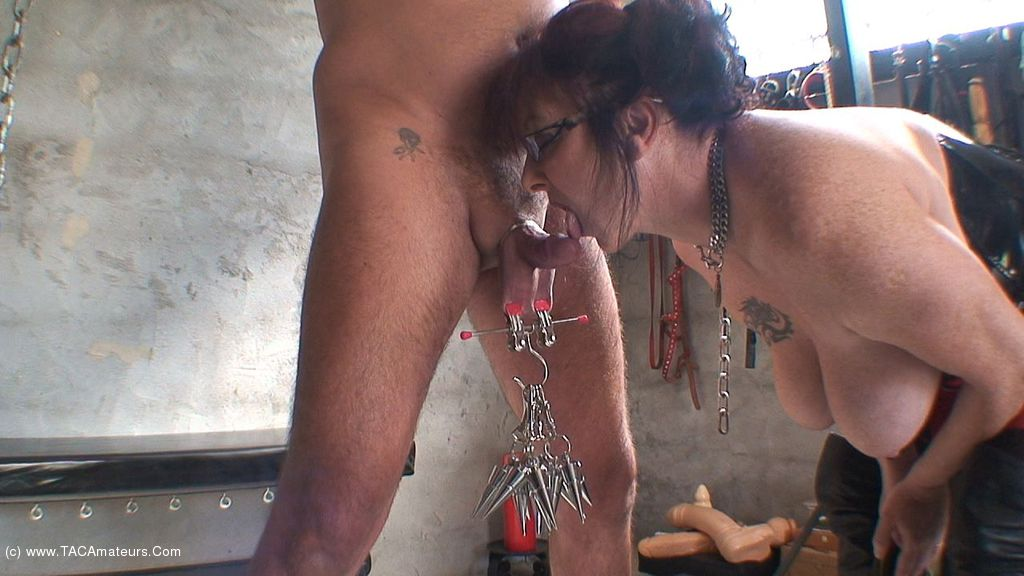 Whip my cock and balls