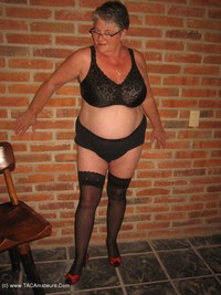 girdlegoddess - Horny In Thigh High Hoisery Free Pic 3