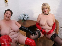 KinkyCarol - Girly Thigh Boot PVC Fun Pt2 Gallery