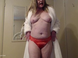 CougarBabeJolee - In Satin Panties You Jerked O