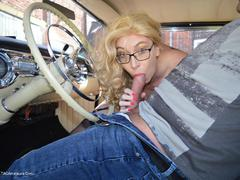 BarbySlut - Barby Does Classic Car Fun Photo Album