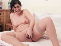 Montse On The Bed Pt4