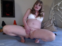 CougarBabeJolee - Dirty Dildo Fuck HD Video