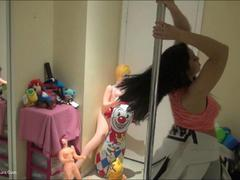 ChingLan - College Pole Dancer Pt2 HD Video