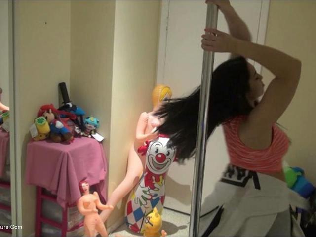 ChingLan - College Pole Dancer Pt2