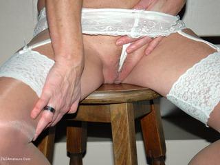 Kyra White Stockings Fetish P