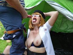 BarbySlut - Sally Army Barby Helps The Homeless HD Video