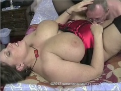 CurvyClaire - Satin Basque Pt3 HD Video