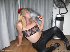 BlackLollipops - Smoking striptease Gallery