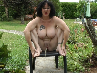 Mary Bitch - Outdoor Pissing Compilation HD Video