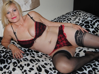 Red & Black Lingerie