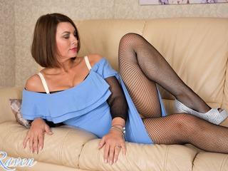Blue Dress & See Through Body
