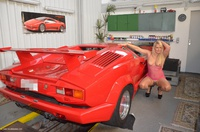 sweetsusi - Naked With The Lambo Free Pic 2