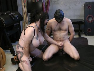 Mary Bitch - Games With A Male Slave Pt1 HD Video