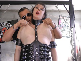 Mary Bitch - Extreme Big Tits Pain Pt1 HD Video