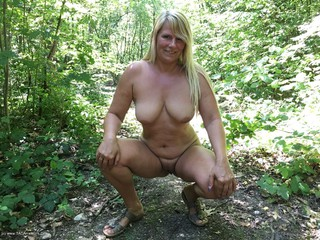 Nude & Hot In The Forest