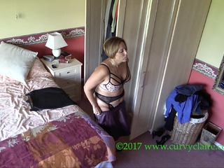 CurvyClaire - Curvy Claire Caught On Spy Ca