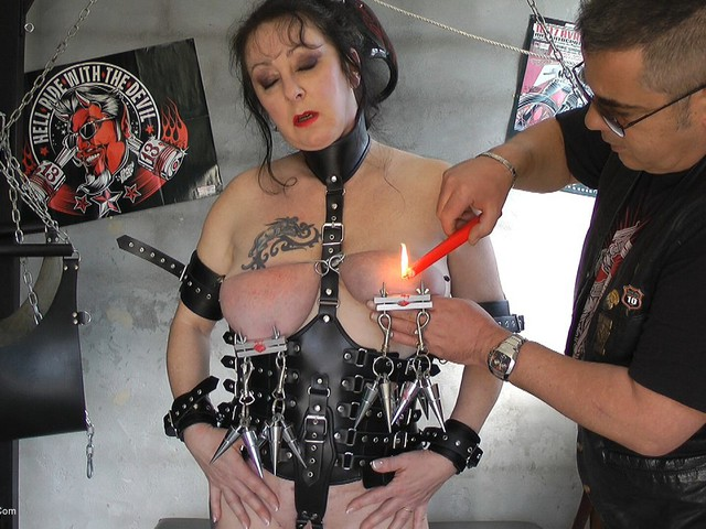 MaryBitch - Extreme Big Tits Pain Pt3