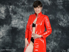 HotMilf - Red Lacquer Coat Gallery