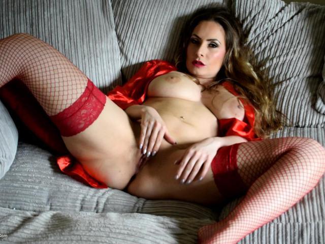 SophiaDelane - Red Nighty Pt2