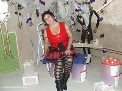 KinkyCarol - Halloween Black & Red PVC Gallery