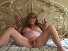 CougarBabeJolee - Caught Tied HD Video