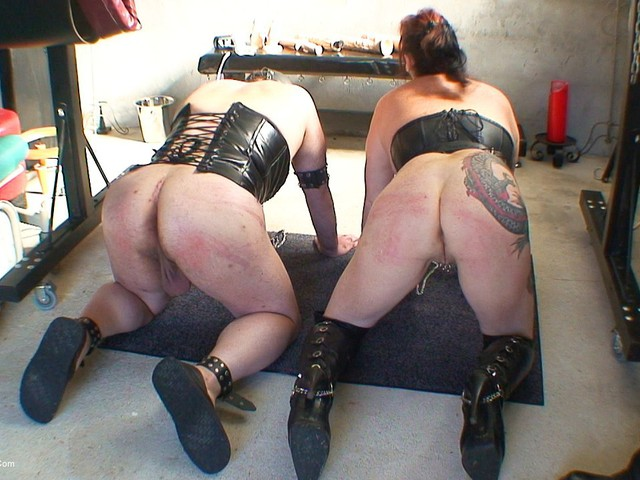 MaryBitch - Whipped With A Male Slave
