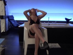 KyrasNylons - Classy Milf Having A Good Time HD Video