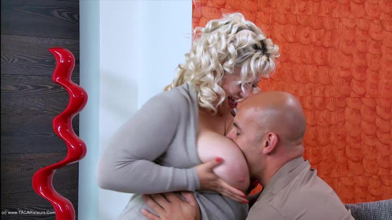 GinaGeorge - Super stud fucks my tits and ass scene 2