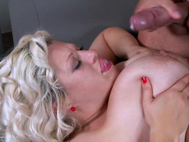 GinaGeorge - Super stud fucks my tits and ass pt4