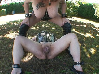 Mary Bitch - Outdoor Pissing Game With Male Slave HD Video