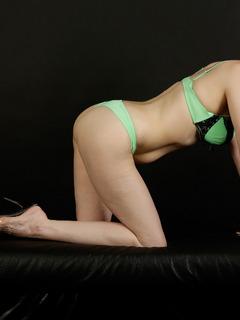 HotMilf - Green Bikini