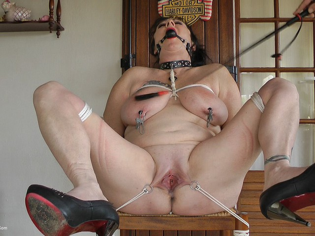 MaryBitch - Bondaged On The Chair Pt2