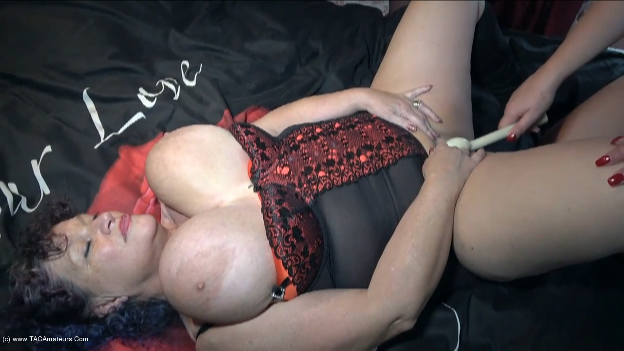 KimsAmateurs - Three Filthy GILF's Pt2 scene 1