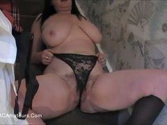 JuiceyJaney - Tartan Mini Skirt Up Skirt Pt2 HD Video