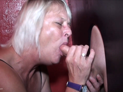 KimsAmateurs - Hillie's Glory Hole BJ Pt1 HD Video