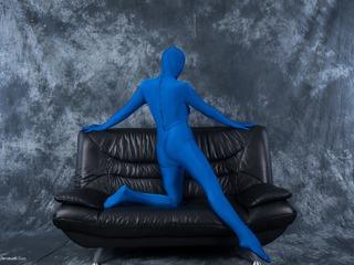 Blue Fun Suit