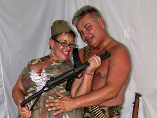 John & Honey In The Army