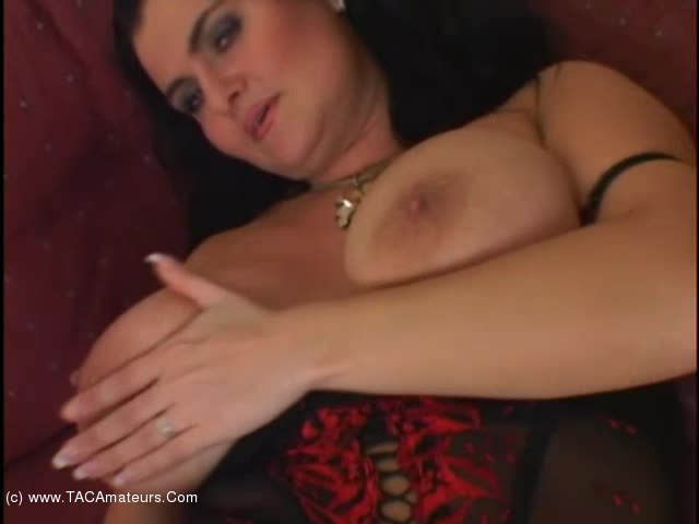 BustyReny - Big black cock and spunky tits scene 2