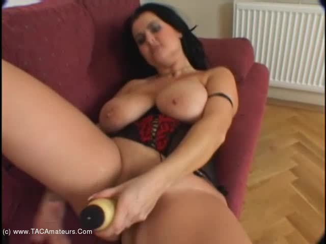 BustyReny - Big black cock and spunky tits scene 3