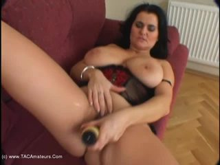 Big black cock and spunky tit