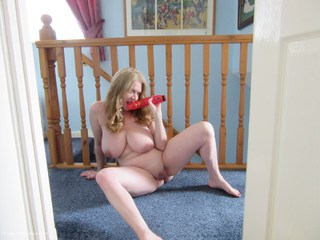 Lily With Her Pink Dildo