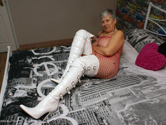 Savana - White PVC Boots Gallery