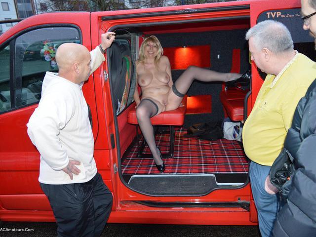 BarbySlut - Barby In A Van