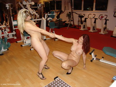 SweetSusi - Two Hot Girls In The Fitness Studio Pt3 Gallery