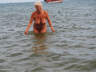 Naked In The Sea