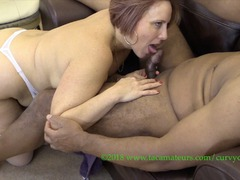 CurvyClaire - Bareback Pussy Therapy Pt3 HD Video