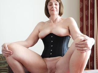 Kat Kitty - Black Corset Picture Gallery